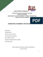 Programa de Econ y Polit. Petrolera Febrero 2018