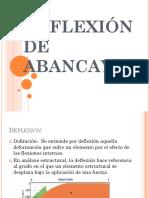 DEFLEXIÓN DE ABANCAY