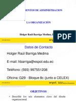 S10 LA ORGANIZACIÓN