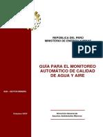 2010 MEM Guía para el monitoreo automático de calidad de agua y aire