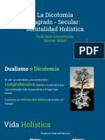 Copy of Cap. iii La Dicotomía Sagrado - Secular