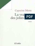 Capucine Motte - La vraie vie des jolies filles