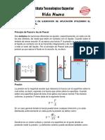 Resolución de ejercicios de aplicación utilizando el principio de pascal