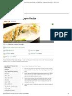 Spinach and Feta Crepes Recipe
