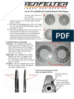 Engine Crankshaft Reluctor Wheel and Camshaft Gear Tooth Count Information