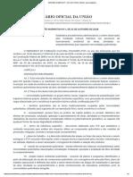 INSTRUÇÃO NORMATIVA Nº 1, DE 31 DE OUTUBRO DE 2018 - Imprensa Nacional