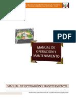 03.01.- MANUAL DE OPERACION Y MANTENIEMIENTO