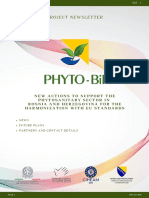 Newsletter NO.1 PHYTO - BIH