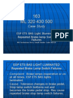 163 Case Study for Brake Lamp Switch Failuers
