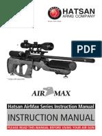 Hatsan AirMax PCP Air Rifle Manual