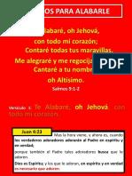 PREDICACION DOMINGO SALMO 9