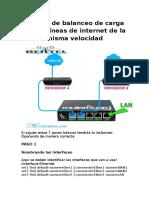 Manual de balanceo de carga para 2 líneas de internet de la misma velocidad.docx