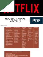 MODELO CANVAS NEXTFLIX