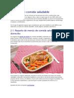 negocios comida sana