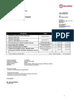 JG-230 ALYABE cotizacion Techpro