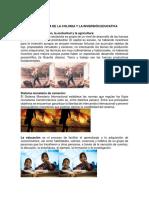 DEPARTAMENTO DE PEDAGOGIA BLOQUE I AL IV