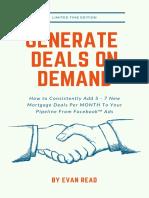 Deals on Demand Program