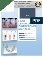 HILOS SEPARADORES