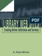Wilson, P. - Lbrary Web Sites.pdf