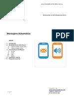 Mensajero Automatico - Pass Card
