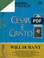 Vol 3 - César e Cristo - Will Durant