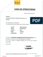 C.O. MINICARGADOR 262CB Y BRAZO EXCAVADOR