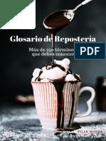 Glosario de Reposteria Edicion 1 (Extracto)