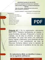 EXPOSICION LECTURA N° 1 DHO