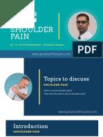 Shoulder Pain - Best Shoulder Pain Treatment in Bangalore | Praxis Ortho Care -Bangalore PPT