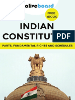 Ebook - Indian Constitution - Parts, Fundamental Rights and Schedules