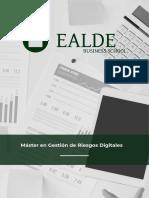 master de gestion en riesgos digitales