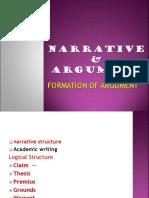 arguement and narration