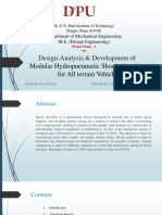 Design-Analysis & Development of Modular Hydropneumatic Shock Absorber for All terrain Vehicle.pptx