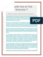 Quién fue el Che Guevara