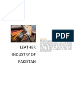 Project Report - Leather Industry of Pakistan