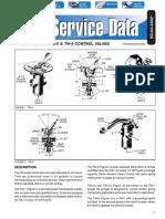 Bendix Service Data - TW1, TW3, TW4, TW5 & TW6 Control Valves (SD-03-3602)