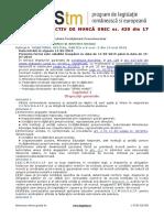CONTRACT COLECTIV DE MUNCĂ UNIC nr. 435 din 17 aprilie 2019