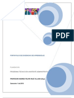 Port a Folio Planeacion Asistente Administrativo (1)
