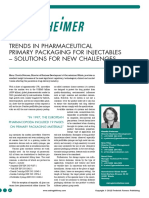 Trends in primary pkg injectables Gerrisheimer_glass vials_final for ppt