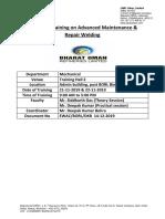 Training Report - BPCL - Oman Bina Refinery