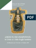 Douglas Regattieri, Credo in Dio Onnipotente, 2019