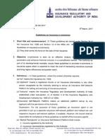 Guidelines on Insurance e-commerce