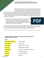 ASME PCC-1 _ Assembly Bolt Stress & Torque Determination