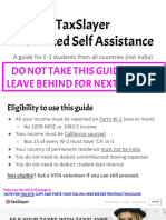 EKS TaxSlayer FSA_ Foreign Students (Non-India)