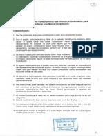 Proyecto de Ley, Modifica la Carta Fundamental con el objeto de establecer un procedimiento para la elaboración de una nueva Constitución Política. Cámara de Diputados, 27 de noviembre de 2019.