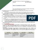 Copie de Les Tps & Les Tds Du Module de Cytologie