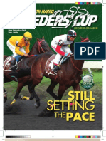 MARHO Jade Breeders' Cup Magazine 2009