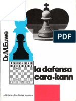 La Defensa Caro-Kann - MAX EUWE.pdf