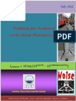 protocol for noise monitoring