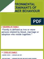 Environmental Determinants of Consumer Behaviour [Autosaved] [Autosaved]